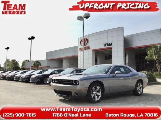 2016 dodge challenger sxt baton rouge la area toyota dealer serving baton rouge la new and used toyota dealership serving hammond lafayette gonzales la team toyota